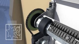 Montage porte de garage enroulable RollMatic Hörmann