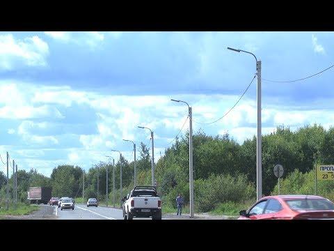 Новые фонари в Череповце