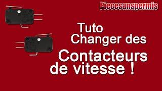 TUTO : CHANGER DES CONTACTEURS DE LEVIER DE VITESSE !