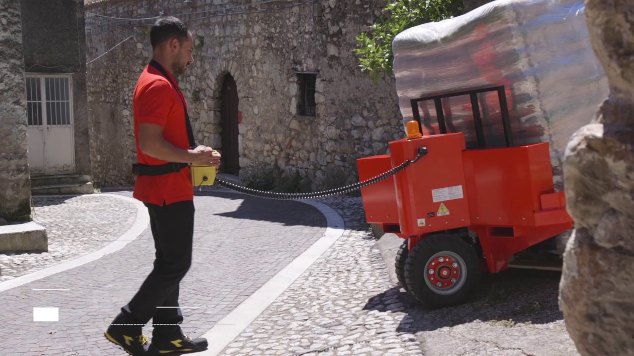 znz offroad hubwagen lasten ber unebenes gel nde transportieren youtube. Black Bedroom Furniture Sets. Home Design Ideas