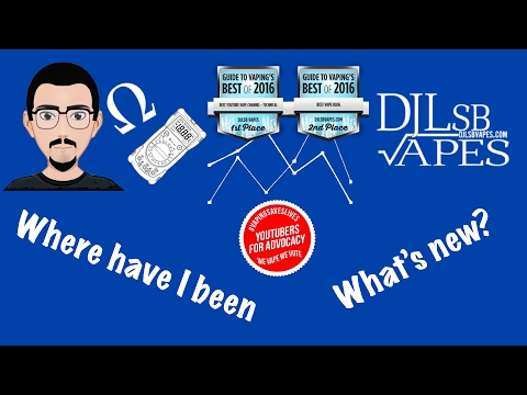 Q&A Live with DJLsb Vapes Ep.1 - I'm back, where have I been? What's New? - DJLsb Vapes