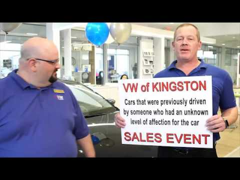 VW OF KINGSTON Used Car Event Dec 2015