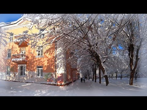 Russia 2018: Life in small provincial town after heavy snowfall. Sheffield's treatment results