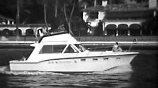 38' Hatteras Yacht Convertible Sales & Promotional Film 1960s