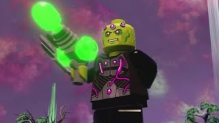 LEGO Batman 3 - Brainiac (Free Roam Gameplay + Brainiac Skull Ship Location)