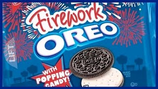 Firework OREO with Popping Candy - Guest Host Sam (the dog)