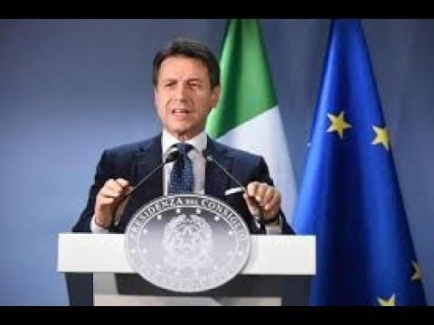 Edizione straordinaria Conferenza stampa di Conte.