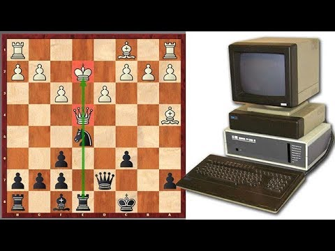 The First World Computer Chess Champion Goes For A Tactical Shot