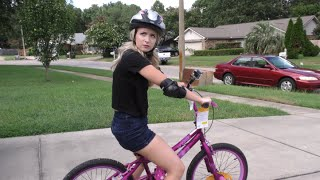 LEARNING TO RIDE A BIKE: PART ONE