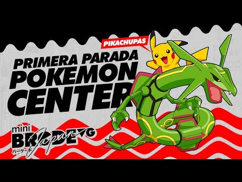 Primera parada ¡Pokémon Center! - mini BarcadeVG Japan