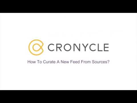 Curate A New Feed From Sources