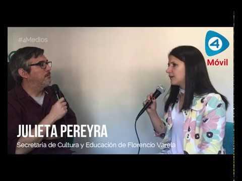"""Julieta Pereyra con Cuatro Medios: """"Hoy a mi pueblo lo veo triste. Mis vecinos tienen hambre"""""""