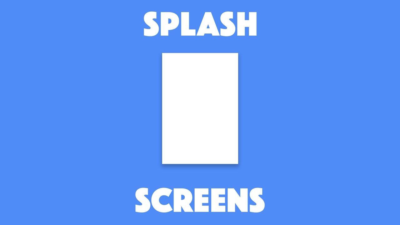 Using the Splash Screen Plugin with Ionic