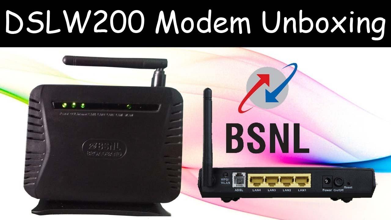 BSNL BROADBAND ADSL MODEM USB DRIVERS DOWNLOAD FREE