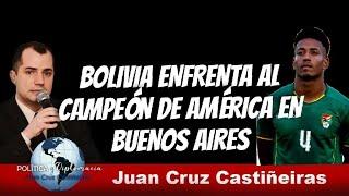 A horas de Argentina Bolivia habla Jairo Quinteros