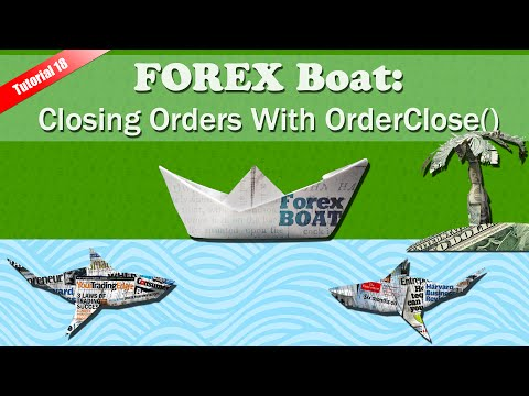 Closing Orders With OrderClose() – MQL4 for Complete Beginners Tutorial Part 18