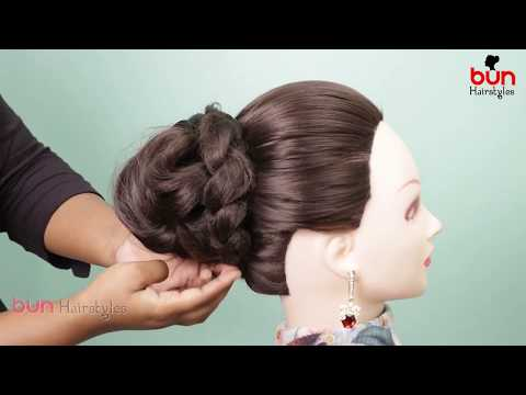 Easy Hairstyle Tutorial / Simple Hairstyles For Party / Cute Hairstyles / Bun Hairstyles thumbnail