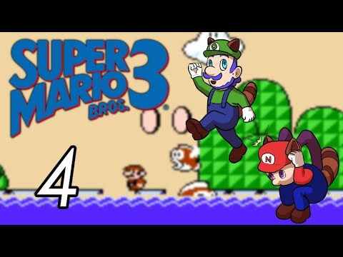 Super Mario Bros. 3 [4] The Large Fish Eats You