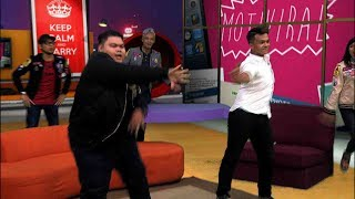 MOTIF VIRAL: LELAKI GEMPAL DANCE BATTLE DENGAN ANAK BUAH ANUAR ZAIN - (CLC & BLACK PINK DANCE MOVE)