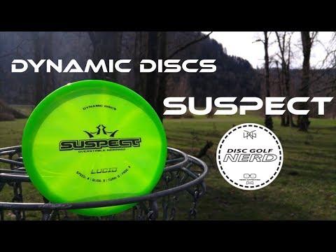 Dynamic Discs Suspect Disc Golf Disc Review - Disc Golf Nerd