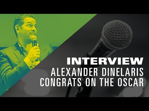 Congratulations Alexander Dinelaris from The Los Angeles Film School!