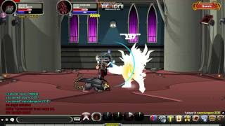 AQW Soloing The Doom Overlord With Shaman! [No Potions/No Scrolls/No Buffs]