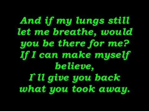 Silverstein - Smashed into Pieces - Lyrics
