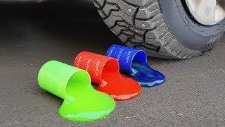 experiment: Car Vs Slime