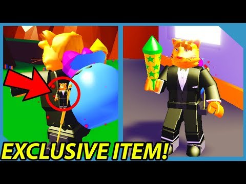 The Owner Gave me an Exclusive Item in Roblox Firework Simulator  