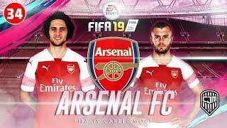 FIFA 19 Arsenal Career Mode: Drama Terjadi Di Pertandingan Persahabatan Lawan Bayern Munich! #34
