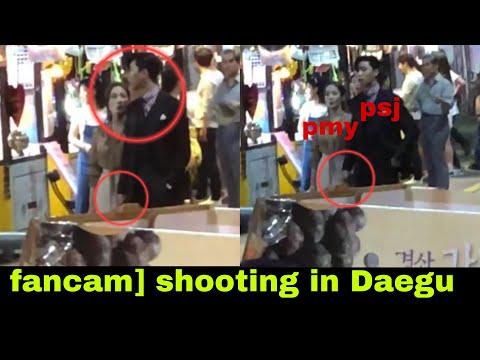 180717 박민영 X 박서준 (parkseojoon X Parkminyoung) 'whats Wrong With Secretary Kim' Shooting In Daegu