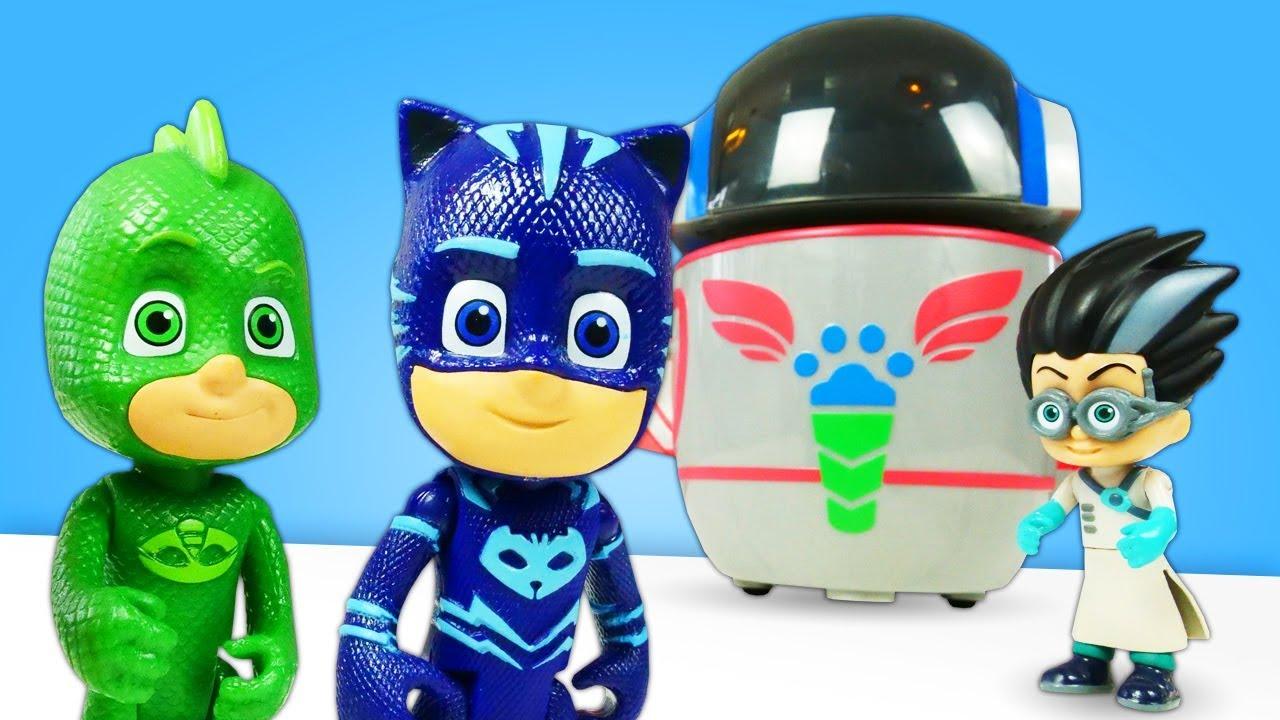 Видео про игрушки Герои в масках для малышей: что задумал ...