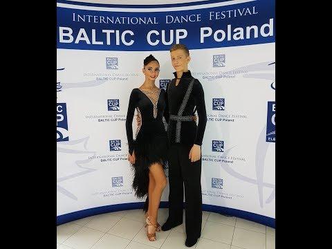 2017 Baltic cup Elblag WDSF Open Junior II LATIN Justas & Aine