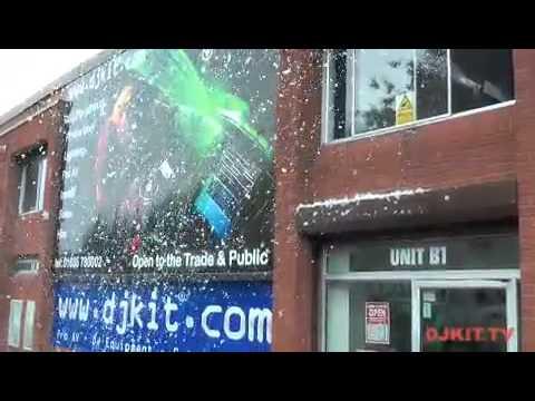 Blizzard 3000Mk2 Snow Machine With DJkit.tv