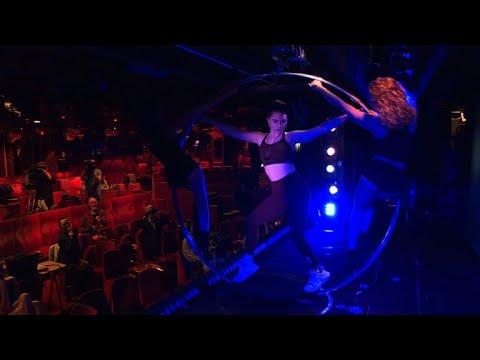 Bailarina 'biônica' | AFP