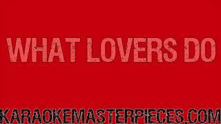 What Lovers Do Instrumental By Maroon 5 Sza Karaoke In Description