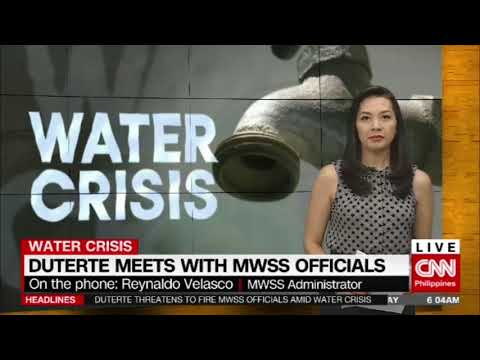 Duterte meets with MWSS officials