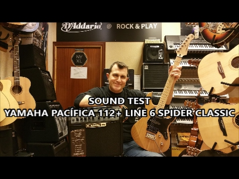 Yamaha PACIFICA 112 + Line 6 SPIDER CLASSIC 15 [SOUND-TEST]