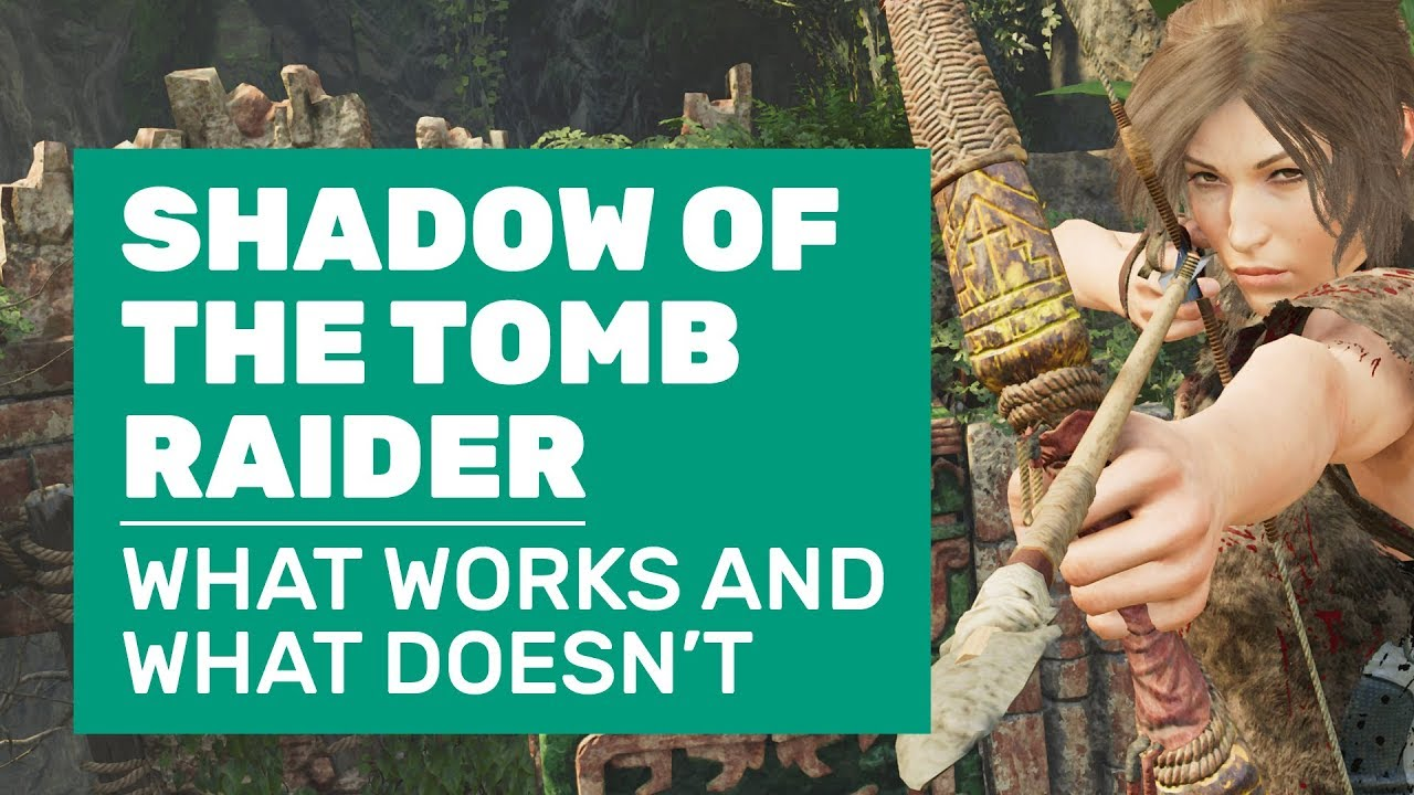 Shadow of the Tomb Raider graphics performance: How to get the best