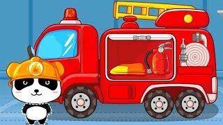 Little Panda Fireman - Educational Games for Kids - PandaKidsPA