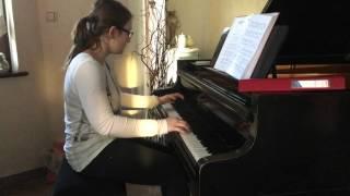 Bergentrückung + ASGORE - Undertale Piano Cover (arr. Kyle Landry)