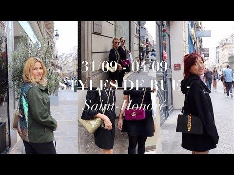 31/09 - 04/09, styles de rue - Saint Honoré