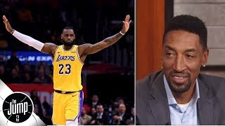 LeBron James is 'back to save the Lakers' season' - Scottie Pippen | The Jump