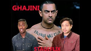 "Ghajini Scene Reaction | Aamir Khan "" Bollywood Game Changer"" 