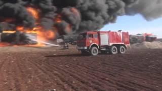 ВКС России уничтожила в Сирии конвой бензовозов ИГ HD, 720p