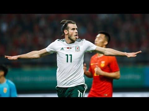 HAT-TRICK de BALE en China y máximo goleador de Gales (22/03/2018)