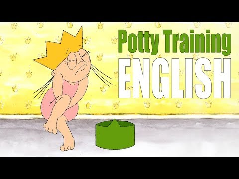 Princess Potty Training (ENGLISH)  | Potty Training Video For Toddlers to watch