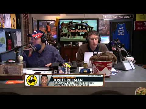 Josh Freeman on the Dan Patrick Show 10/18/13