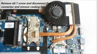 HP Envy 17 Overheating and Disassembly