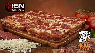 Little Caesars Is Now Selling A Bacon-wrapped Deep Dish Pizza - Ign News